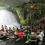 Ресторан на вилле Эскудеро в курортном городе Сан - Пабло, Филиппины
